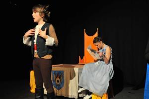"""Die """"3K-Theaterwerkstatt Mühlhausen"""" spielt eine moderne Fassung des """"Gestiefelten Katers"""""""