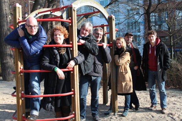 Das amarena-Kuratorium v.l.n.r.: Stephan Schnell, Christine Bossert, Ulrich Schwarz, Frank Grünert (Vorsitzender), Prof. Dr. Romi Domkowsky, Friedrich Schirmer, Martin Bretschneider  (Foto: Alexandra Heyden)